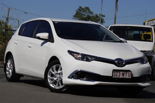 2017 Toyota Corolla ZRE182R Ascent Sport S-CVT Glacier White 7 Speed Constant Variable Hatchback.