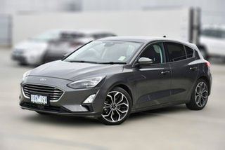 2018 Ford Focus SA 2019MY Titanium Grey 8 Speed Automatic Hatchback.