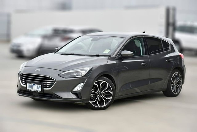 Used Ford Focus SA 2019MY Titanium Pakenham, 2018 Ford Focus SA 2019MY Titanium Grey 8 Speed Automatic Hatchback