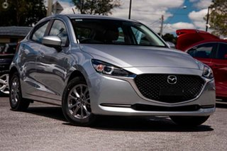 2021 Mazda 2 DJ2HAA G15 SKYACTIV-Drive Pure Silver 6 Speed Sports Automatic Hatchback.