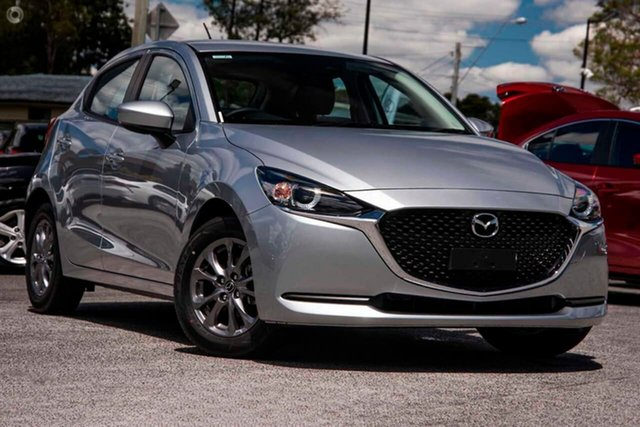 New Mazda 2 DJ2HAA G15 SKYACTIV-Drive Pure East Maitland, 2021 Mazda 2 DJ2HAA G15 SKYACTIV-Drive Pure Silver 6 Speed Sports Automatic Hatchback