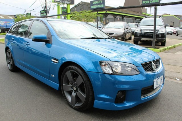 Used Holden Commodore VE II MY12.5 SV6 Sportwagon Z Series West Footscray, 2012 Holden Commodore VE II MY12.5 SV6 Sportwagon Z Series Blue 6 Speed Sports Automatic Wagon