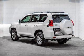 2018 Toyota Landcruiser Prado GDJ150R VX White 6 Speed Sports Automatic Wagon.