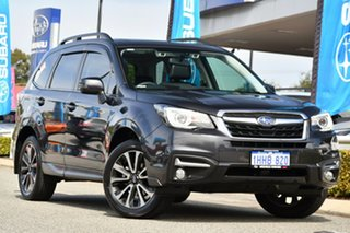2017 Subaru Forester S4 MY18 2.5i-S CVT AWD Dark Grey 6 Speed Constant Variable Wagon