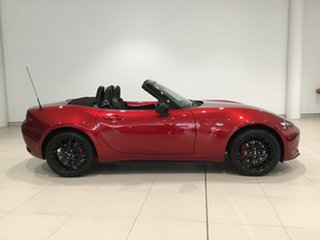 2020 Mazda MX-5 ND GT SKYACTIV-MT RS Soul Red 6 Speed Manual Roadster.