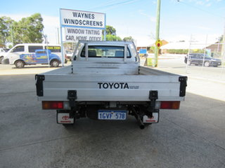 2013 Toyota Hilux KUN26R SR Silver 5 Speed Manual Cab Chassis