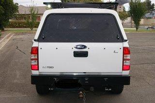2007 Ford Ranger PJ 07 Upgrade XL (4x4) White 5 Speed Manual Dual Cab Pick-up.