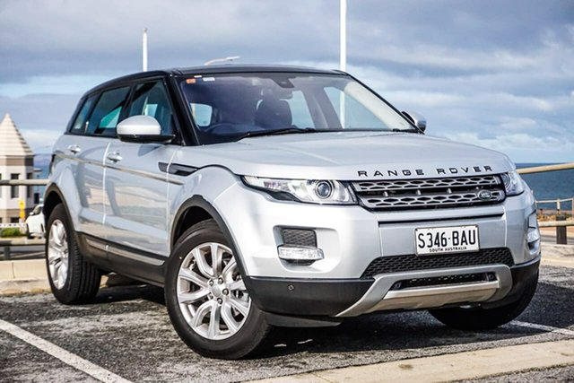 Used Land Rover Range Rover Evoque L538 MY15 Pure Christies Beach, 2014 Land Rover Range Rover Evoque L538 MY15 Pure Silver 9 Speed Sports Automatic Wagon