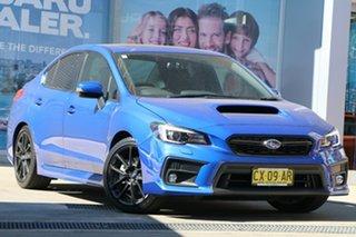 2020 Subaru WRX MY20 Premium (AWD) WR Blue Continuous Variable Sedan.