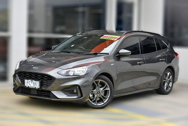 Used Ford Focus SA 2019.25MY ST-Line Berwick, 2019 Ford Focus SA 2019.25MY ST-Line Grey 8 Speed Automatic Wagon
