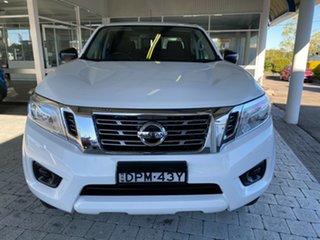 2017 Nissan Navara SL White Sports Automatic Dual Cab Utility.