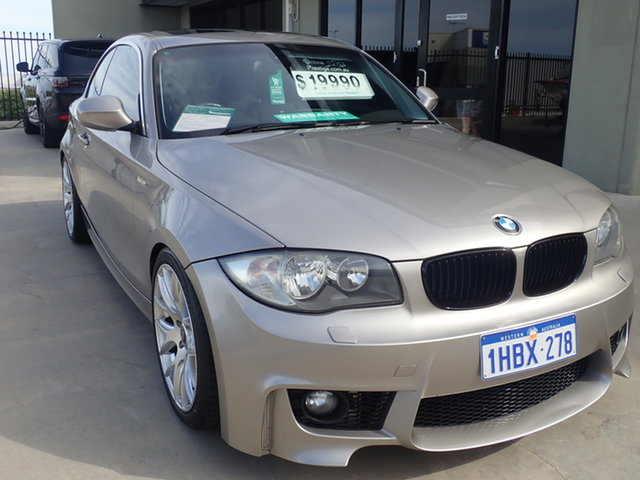 Used BMW 125i E82 MY12 Wangara, 2011 BMW 125i E82 MY12 Gold Metallic 6 Speed Automatic Coupe