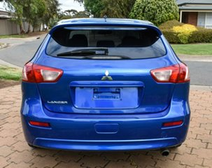 2014 Mitsubishi Lancer CJ MY14.5 GSR Sportback Blue 5 Speed Manual Hatchback