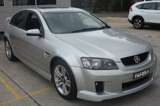 2008 Holden Commodore VE MY09 SV6 Silver 6 Speed Manual Sedan.