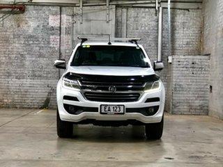 2017 Holden Colorado RG MY18 LTZ Pickup Crew Cab White 6 Speed Manual Utility.