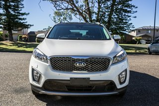 2015 Kia Sorento UM MY16 Platinum AWD White 6 Speed Sports Automatic Wagon.