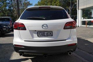 2013 Mazda CX-9 TB10A5 Classic Activematic White 6 Speed Sports Automatic Wagon