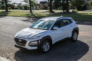 2018 Hyundai Kona OS MY18 Active 2WD White 6 Speed Sports Automatic Wagon.