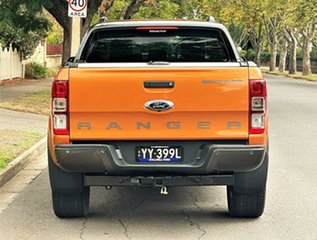 2016 Ford Ranger PX MkII Wildtrak Double Cab Gold 6 Speed Sports Automatic Utility