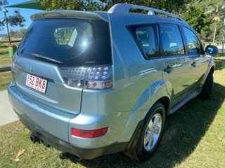 2009 Mitsubishi Outlander ZG MY09 LS Blue 6 Speed Constant Variable Wagon