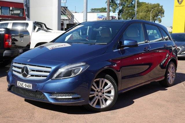 Used Mercedes-Benz B200 246 CDI BE Brookvale, 2012 Mercedes-Benz B200 246 CDI BE Blue 7 Speed Auto Direct Shift Hatchback