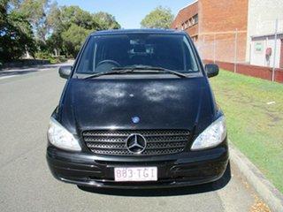 2010 Mercedes-Benz Vito 639 MY10 111CDI Crew Cab Extra Long Black 5 Speed Automatic Van.
