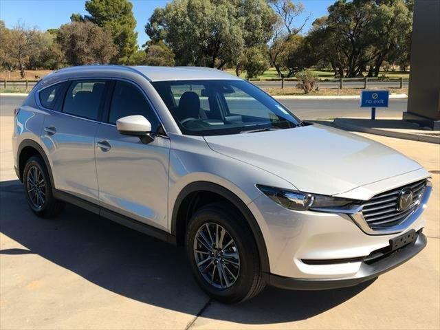 New Mazda CX-8 KG2WLA Sport SKYACTIV-Drive FWD Berri, 2021 Mazda CX-8 KG2WLA Sport SKYACTIV-Drive FWD Platinum Quartz Metallic 6 Speed Sports Automatic