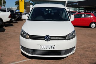 2012 Volkswagen Caddy 2K MY13 TDI250 Trendline White 7 Speed Auto Direct Shift Wagon
