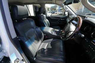 2016 Lexus LX570 URJ201R Facelift White Pearl 8 Speed Automatic Wagon