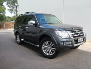 2014 Mitsubishi Pajero NX MY15 GLS Grey 5 Speed Sports Automatic Wagon.