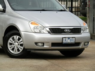 2011 Kia Grand Carnival VQ MY11 SI Adventurine Silver 6 Speed Sports Automatic Wagon.