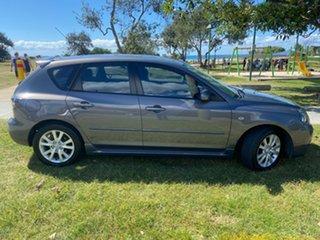 2007 Mazda 3 BK10F2 Maxx Sport Grey 4 Speed Sports Automatic Hatchback.