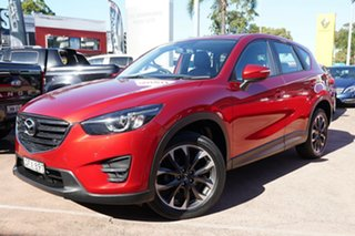 2016 Mazda CX-5 MY15 GT (4x4) Red 6 Speed Automatic Wagon.