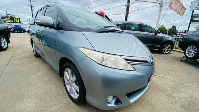 Used Toyota Tarago GSR50R MY09 GLi Maidstone, 2010 Toyota Tarago GSR50R MY09 GLi Grey 6 Speed Sports Automatic Wagon