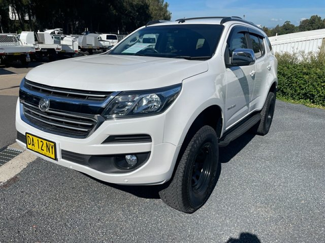 Used Holden Trailblazer RG MY19 LTZ Maitland, 2019 Holden Trailblazer RG MY19 LTZ White 6 Speed Sports Automatic Wagon