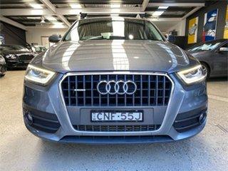 2013 Audi Q3 8U TFSI Grey Sports Automatic Dual Clutch Wagon.