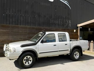 2005 Ford Courier PH XL Crew Cab Silver 5 Speed Manual Utility.