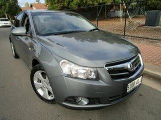 2011 Holden Cruze JG CDX Grey 6 Speed Automatic Sedan.