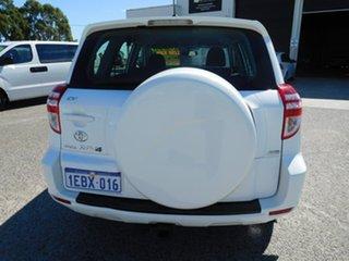2012 Toyota RAV4 ACA33R MY12 CV White 4 Speed Automatic Wagon