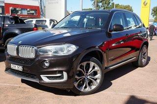 2013 BMW X5 F15 xDrive30d Black 8 Speed Automatic Wagon.