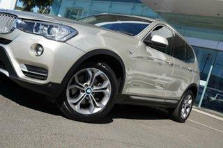 2017 BMW X3 F25 MY17 Update xDrive20d Mineral Silver 8 Speed Automatic Wagon.
