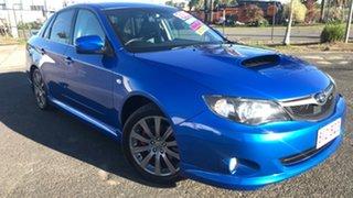 2008 Subaru Impreza G3 MY09 WRX Blue 5 Speed Manual Sedan.