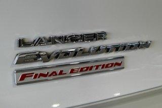 2015 Mitsubishi Lancer CJ MY15 Evolution Final Edition White 5 Speed Manual Sedan