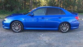 2008 Subaru Impreza G3 MY09 WRX Blue 5 Speed Manual Sedan