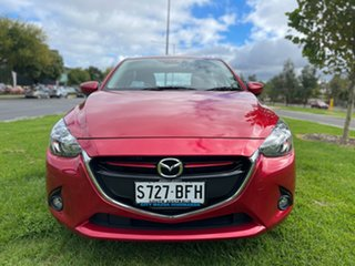 2015 Mazda 2 DJ2HAA Genki SKYACTIV-Drive Soul Red 6 Speed Sports Automatic Hatchback.