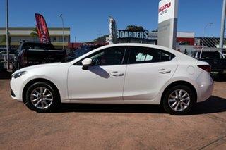 2016 Mazda 3 BM MY15 Touring White 6 Speed Automatic Sedan