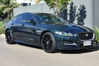 2015 Jaguar XE X760 MY16 20d R-Sport Green 8 Speed Sports Automatic Sedan