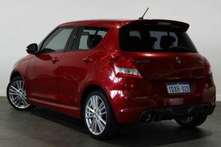 2012 Suzuki Swift FZ Sport Red 7 Speed Constant Variable Hatchback.