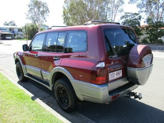 2003 Mitsubishi Pajero NP MY04 GLS Red 5 Speed Sports Automatic Wagon
