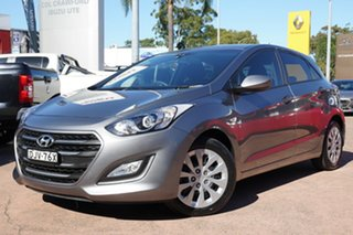 2016 Hyundai i30 GD4 Series 2 Update Active Grey 6 Speed Manual Hatchback.